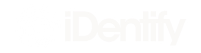 Klein wit logo iDentify